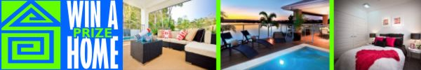 Go to WinAPrizeHome.com.au & see the latest prize homes on offer